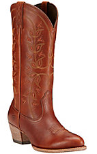 Ariat New West Women's Cedar Desert Holly Traditional Toe Western Boots