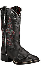 Ariat Sidekick Women's Black Deertan Square Toe Western Boots