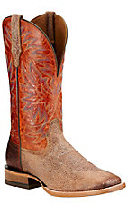 Ariat High Call Men's Quicksand with Sunset Top Double Welt Square Toe Western Boots