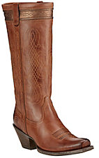 Ariat Trinity Women's Chai Punchy Square Toe Western Boots
