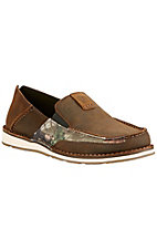 Ariat Men's Vintage Brown with Camo Cruiser Shoe
