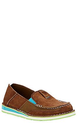 cf3086d67e2a2d Ariat Cruiser Women s Palm Brown Moc Shoe