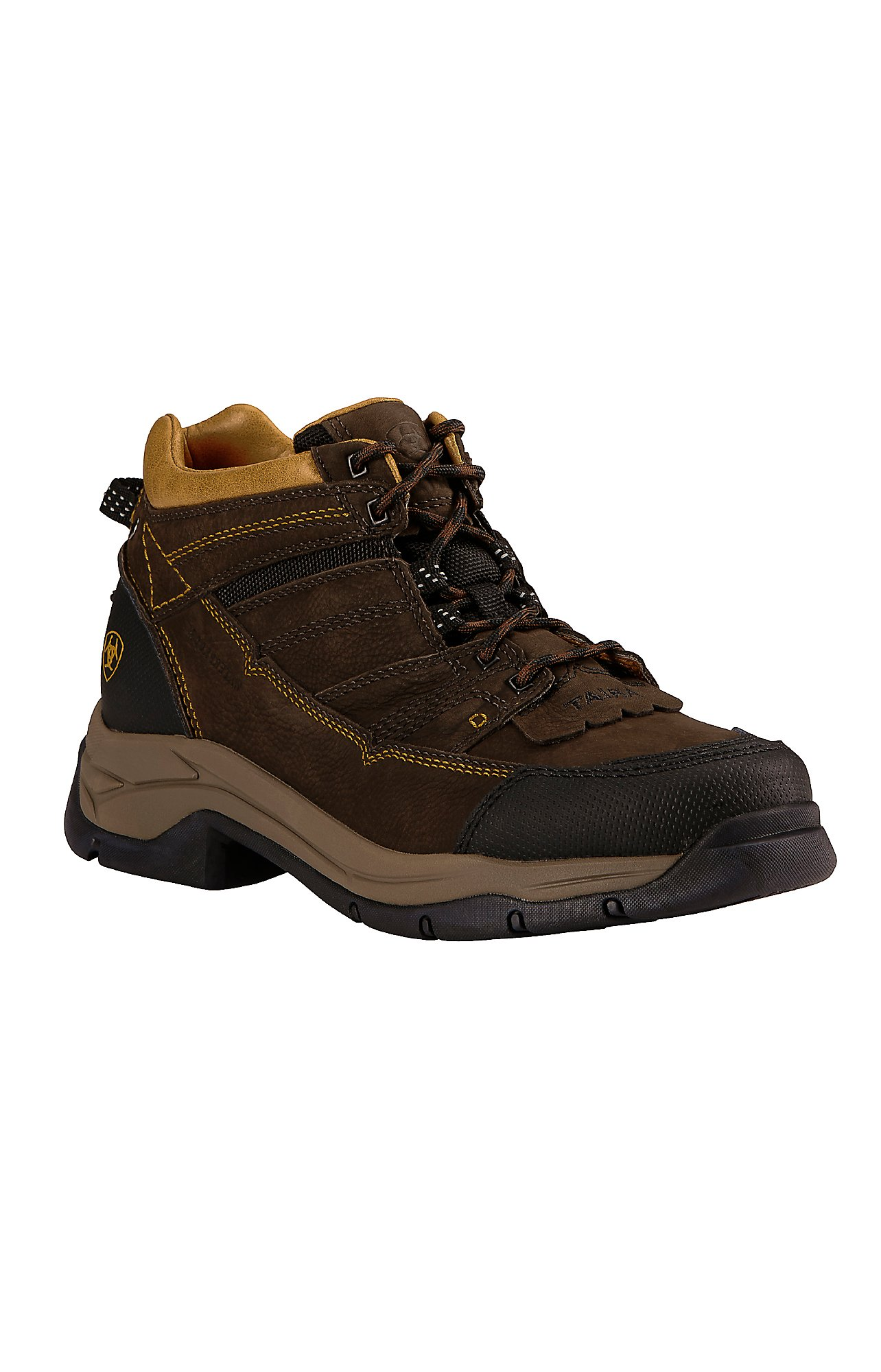 Ariat Men's Java Brown Terrain Pro H20 Waterproof Hiking Boots ...