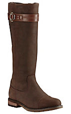 Ariat Women's Brown Waterproof Round Toe Fashion Boots