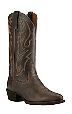 Ariat Men's Brooklyn Brown with Duratread Sole Round Toe Western Boot