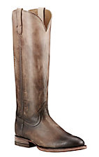 Ariat Women's Cream and Chocolate Ombre Round Toe Fashion Boot