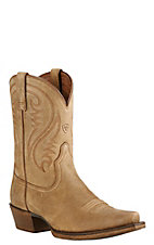 Ariat Women's Brown Bomber Snip Toe Western Boot