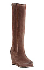 Ariat Women's Moon Rock with Embroidered Trim Round Toe Wedge Fashion Boots
