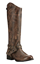 Ariat Women's Manhattan Brooklyn Brown Round Toe Fashion Boot