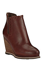 Ariat Women's Cedar Brown Wedge Round Toe Fashion Boots