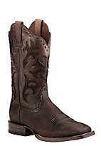 Ariat Men's Cowboss Chocolate Ombre Western Wide Square Toe Boots