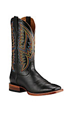Ariat Men's Black Heston Square Toe Western Boot