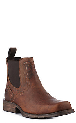 Ariat Men's Brown Midtown Rambler Square Toe Casual Boots