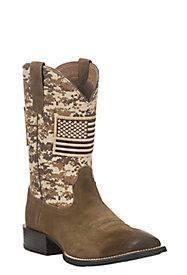 Men's Patriotic Boots