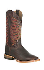 Ariat Men's High Country Dark Brown Upper Western Wide Square Toe