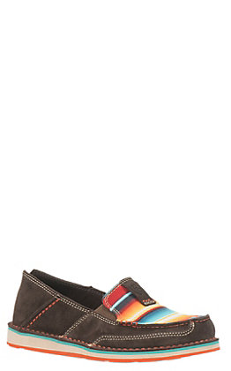 Ariat Cruiser Women's Brown with Serape Print Moc Shoe