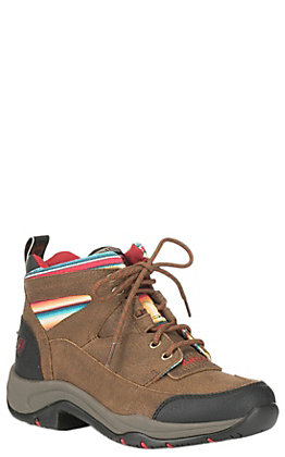 Ariat Women's All Terrain Brown with Serape Hiking Boots