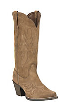 Ariat Women's Round Up Renegade Tan Snip Toe Western Boots