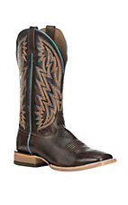 Ariat Men's Ranchero Rebound Brown Western Square Toe Boots
