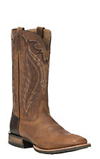 Ariat Men's Top Hand Tan Western Square Toe Boots