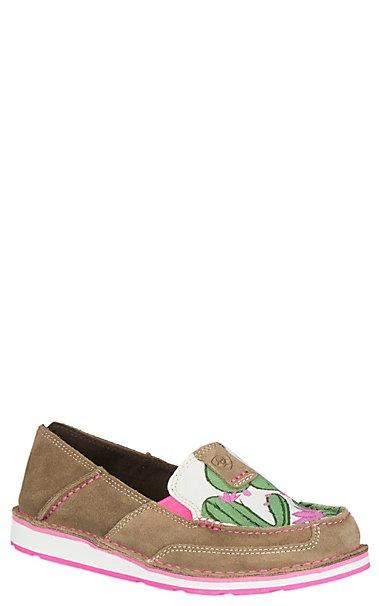 Ariat Cruiser Cactus Print Slip-Ons 0SgcSh6aH