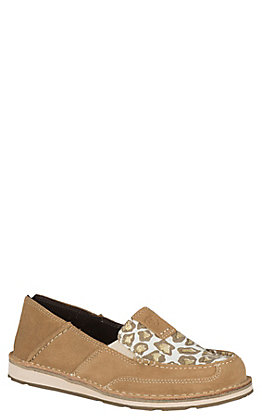 Ariat Women's Sparklin' Leopard Cruiser Casual Shoe