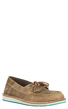 Ariat Women's Cruiser Castaway Women's Bomber Brown Casual Shoes