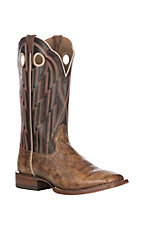 Ariat Men's Desert Drought w/ Cowboy Cocoa Upper Fast Action Wide Square Toe Western Boots
