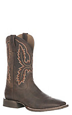 Ariat Men's Weathered Brown Circuit Dayworker Wide Square Toe Western Boot