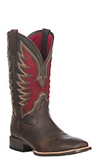 Ariat Men's Barley Brown VentTEK Ultra Wide Square Toe Western Boot