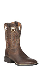 Ariat Men's Roasted Brown Sport Ranger Wide Square Toe Western Boot