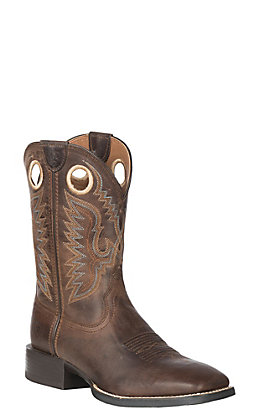 Ariat Men's Sport Ranger Roasted Brown Wide Square Toe Western Boot