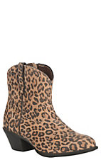 Ariat Women's Leopard Print Almond Toe Darlin Casual Boot