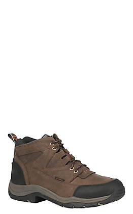 Ariat Men's Distressed Brown Waterproof Lace Up Terrain Shoe
