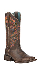 Ariat Women's Cocoa Circuit Cisco Wide Square Toe Western Boot