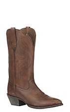 Ariat Women's Heritage R Toe Naturally Distressed Western Boot