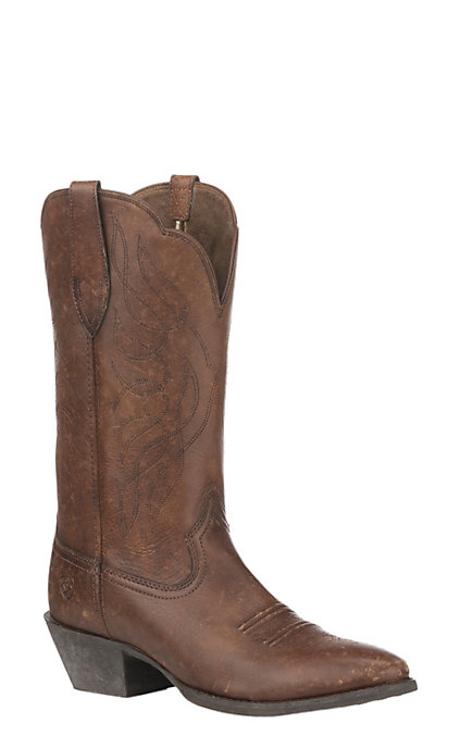 160290e6eb2 Ariat Women's Heritage R Toe Naturally Distressed Western Boot