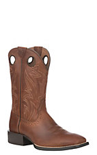 Ariat Men's Sport Sidebit Native Nutmeg Wide Square Toe Western Boot