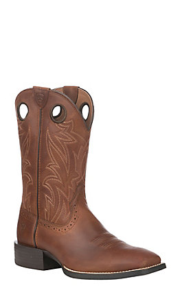 bf8e8330fdb Recently viewed. ‹ Ariat Men s Sport Sidebit Native Nutmeg Wide Square Toe  Western Boot
