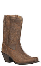 Ariat Women's Vintage Bomber Leather Round Up Rylan Short Western Boot