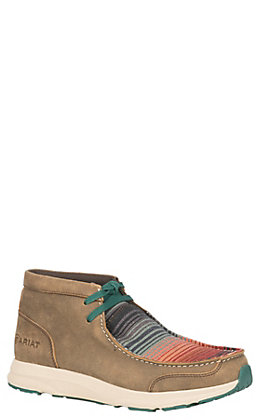 Ariat Spitfire Women's Brown & Serape Lace Up Casual Shoes