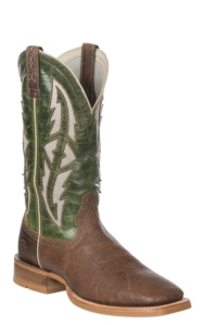 b8f3101d21f Ariat Cowhand VentTEK Men's Tobacco Toffee & Fresh Mint Wide Square Toe  Western Boots