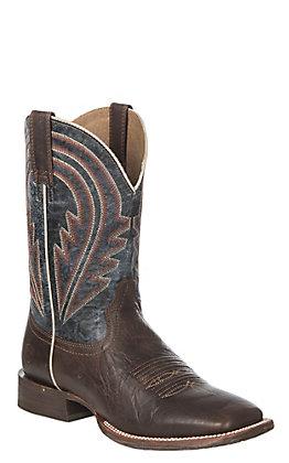Ariat Men's Sweet Molasses Circuit Herd Boss Wide Square Toe Western Boot