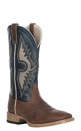 Ariat Men's Solado VentTEK Western Wide Square Toe Boot