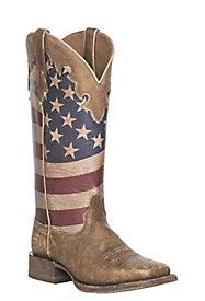 Women's Patriotic Boots