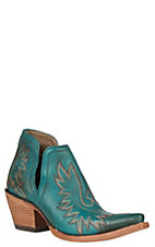 Ariat Women's Dixon Green Snip Toe Western Booties