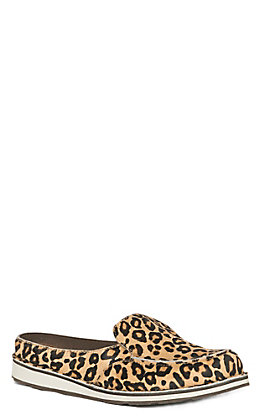 Ariat Cruiser Women's Leopard Hair On Slide Casual Shoe