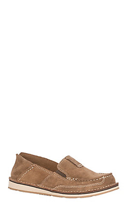 Ariat Cruiser Women's Chestnut Suede Casual Shoes