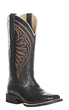 Ariat Women's Phantom Black Circuit Shiloh Western Square Toe Boot