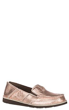 bce44df411c27b Ariat Women s Cruiser Metallic Rose Gold Casual Shoe